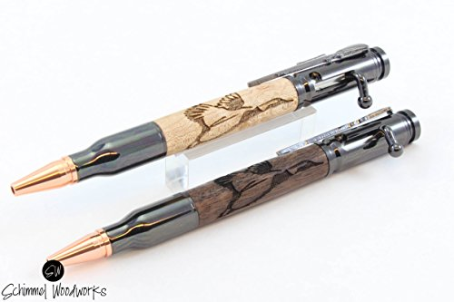Hunters Bolt Action Bullet Pen Duck Pen and Ink Gifts for hunters hunting gifts duck hunting groomsmen gift for men writing pens, Comes in gift box!