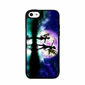 Fairies Dancing in the Sky TPU RUBBER SILICONE Phone Case Back Cover iPhone 4 4s