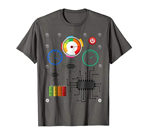 Fun Robot Halloween Costume T-Shirt]()