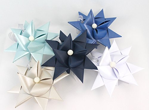 Handcrafted Scandinavian Star set. Iceland 5 pack (Christmas Traditions Denmark In)