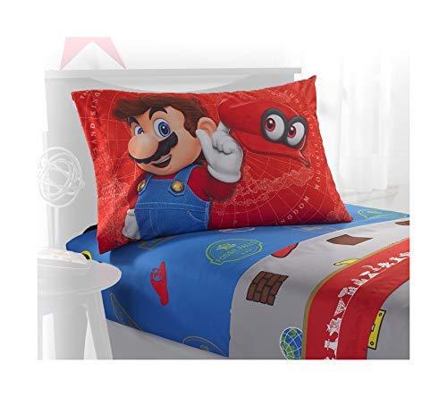Super Mario Odyssey World 4 Piece Full Sheet Set ()