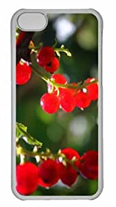 Customized iphone 5C PC Transparent Case - Currants Personalized Cover