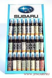 (Genuine Subaru J361SAL000 Touch-Up Paint, Crystal White Silica (WHC, WH1), Paint code k1x)