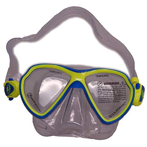 Aqua Lung U.S. Divers Juniors Lanai Blue/Green Mask