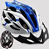 Dealzone Hot New Inbike Cycling BMX Bicycle Hero Bike Helmet with Visor Blue SE