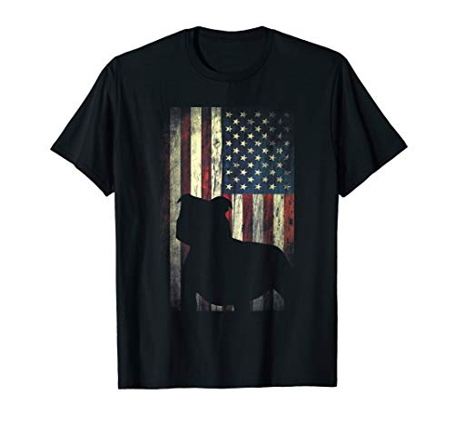 Staffordshire Bull Terrier American Flag Shirt Patriotic Dog