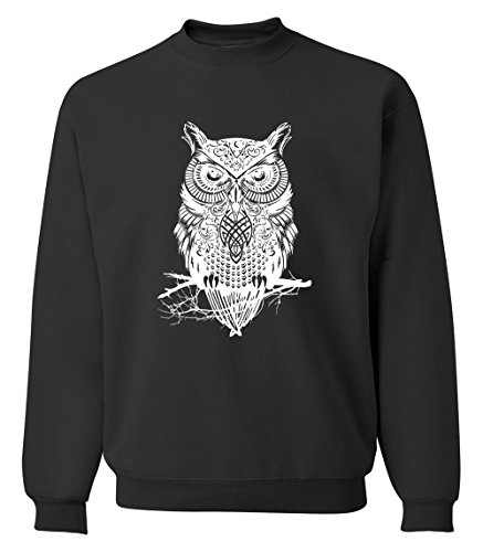 Gold Happy Spring winter fashion owl animal sweatshirt hoodies hip hop style streetwear slim fit tracksuit - Armani Suits Jeans