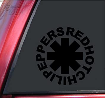 a Red Hot Chili Peppers Vinyl Decal for laptop windows wall car boat