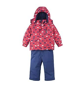 Hatley Boys' Toddler Snow Suit Set, Polar Bear, 2 Years