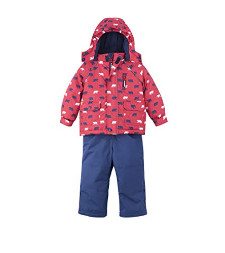 Hatley Baby Boys Snow Suit Set, Polar Bear,