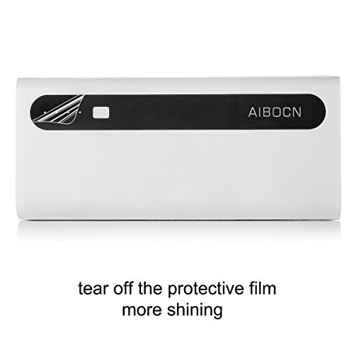 Aibocn ability Bank by implies of  Flashlight 2 in 1Dual USB Ports 10000mAh easily transportable External Battery Charger Battery Pack for Apple phone iPad Samsung Galaxy Smartphones Tablet and alot more wi-fi Accessories