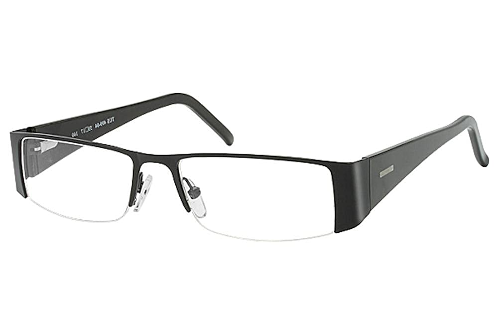 Tuscany Mens Eyeglasses 499 Half Rim Optical Frame 53mm