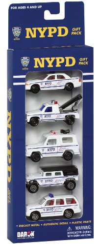 Daron Nypd Vehicle Gift Set, ()