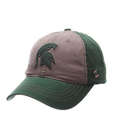 Zephyr NCAA Michigan State Spartans Mens Storm Front Strap Back Hat, Adjustable, Multicolor