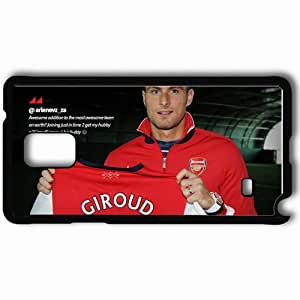 Personalized Samsung Note 4 Cell phone Case/Cover Skin 2013 wonderful olivier giroud Black