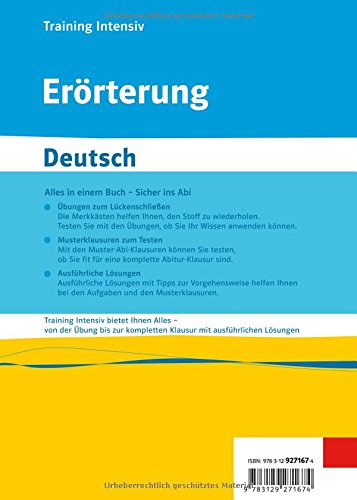 errterung deutsch amazonde claus gigl bcher - Mustererorterung