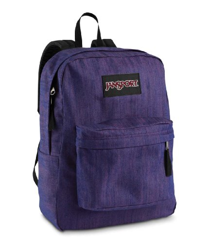denim daze backpacks purple denim