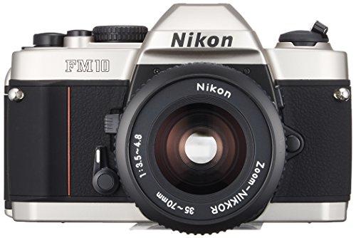 Nikon Single-lens Reflex Camera Fm10 Standard-set (Fm10 Body and Ai Zoom with Nikko-ru 35~70mm F3.5~4.8s and Camera Case Strap) Mh-24 Is Required. (Single Lens Reflex Camera Nikon)
