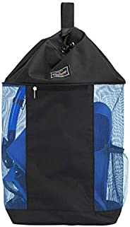 PACMAXI Mesh Scuba Diving Bag, Travel Dive Bag for Scuba or Snorkeling with 1 Zip Pocket and 1 Mesh Pocket, Ca