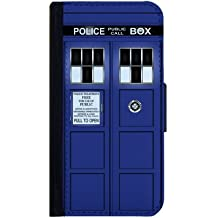 Samsung Galaxy S5 Case, Tardis Doctor Who Classic Design Flip Case, Book Style Case, Pocket Case ,Wallet Case, Flap Case, Designe Cover, Samsung Cover, Galaxy S5 Case, 45