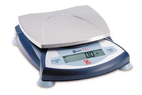 Ohaus SP6001 Scout Pro Portable Balances, 6000g Capacity, 0.1g Readability by Ohaus