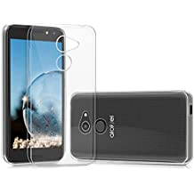 kwmobile Crystal Case Cover for Alcatel A3 made of TPU Silicone - transparent clear Protection Case in transparent