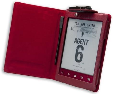 La funda Sony PRS T2 con luz incorporada de Gecko Covers de color ...