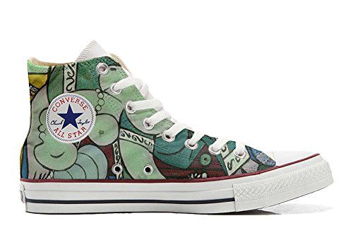 Converse All Star Customized - zapatos personalizados (Producto Artesano) artístico