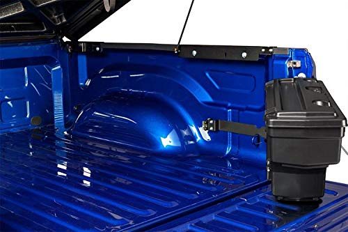 UnderCover SwingCase Truck Bed Storage Box | SC304P | fits 2020 Jeep Galdiator Passenger Side