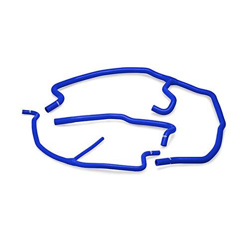 - Mishimoto MMHOSE-VET-05ANCBL Chevrolet C6 Corvette/Z06 Silicone Ancillary Hose Kit, 2005-2008, Blue