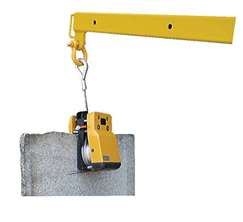 Bear Claw Slab Grabber - BSLV Series; Overall Size (W x D x H): 9'' x 10'' x 22''; Grip Range: 5/8'' to 2-3/8''; Capacity (LBS): 2,646 by Beacon World Class Products