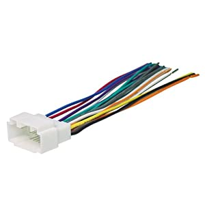 Scosche HA08B Wire Harness to Connect An Aftermarket Stereo Receiver for Select 1998-2006 Honda/Acura