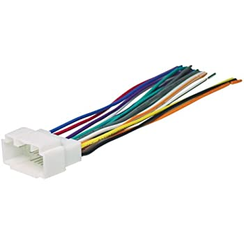 amazon com metra 70 1721 wiring harness for 1998 2005 acura suzuki rh amazon com Trailer Wiring Harness engine wiring harness function