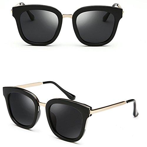 Gafas de Coreanas DT Femeninas Gafas polarizadas Sol Sol 4 de Delgadas 2 Gafas Color FAwxR