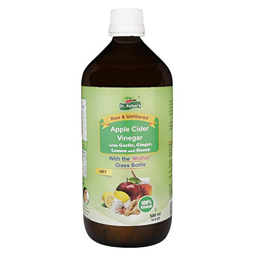 Dr. Patkar's Apple Cider Vinegar with Garlic, Ginger, Lemon and Honey 500ml