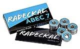 RADECKAL Blue ABEC 7 Skateboard Bearings, Skateboards, Longboards, Cruisers, Inline Skates, Roller Skates,...