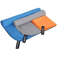 Viinin Ultra Absorbent and Quick Dry Microfiber Towel for...