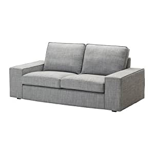 IKEA KIVIK - Cubierta sofá de dos plazas, Isunda gris ...