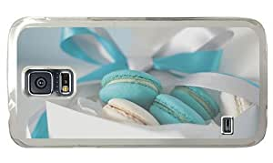 Hipster Samsung Galaxy S5 Case thinnest cases cream cookies PC Transparent for Samsung S5