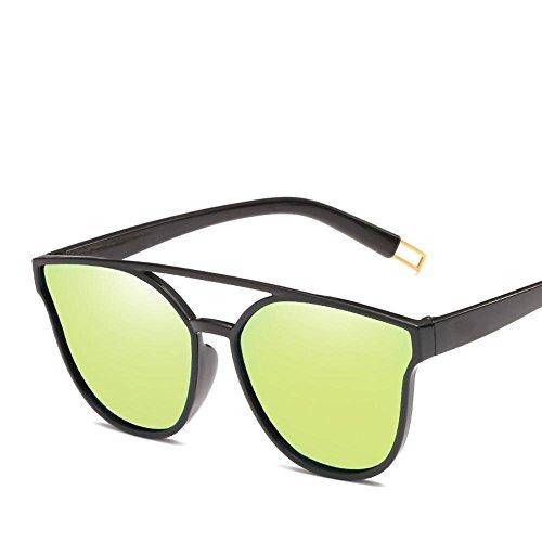 de Gafas del Gafas Regalos Sol versión Moda de creativos Gafas Europeo Coreana de Hombre Estilo Axiba Personalidad Sol Mismo F de Gafas Sol HD q47O1tx