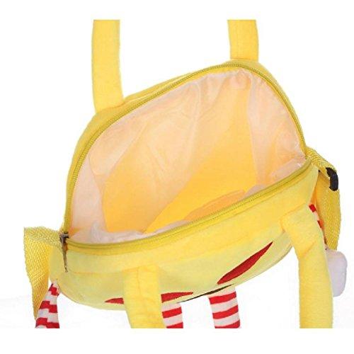Satchel Handbag Backpack Bag Rucksack Kids D Villus Emoji Shoulder Child School Elevin TM New Emoticon POwBC