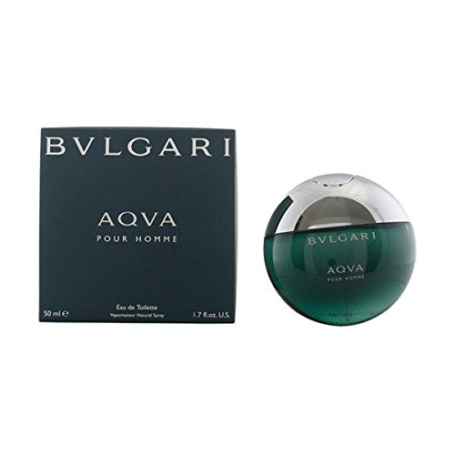 Bvlgari Men's Aqva Pour Homme EDT Spray,Blue,1.7 oz