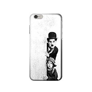 """Charlie Chaplin 4.7 inches Iphone 6 Case,fashion design image custom iPhone 6 4.7 inches case,durable iphone 6 hard 3D case cover for iphone 6 4.7"""", iPhone 6 Full Wrap Case"""