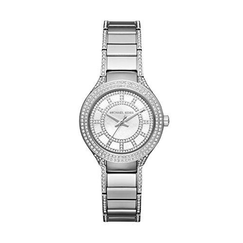 Michael Kors Women's Mini Kerry Silver-Tone Watch MK3441