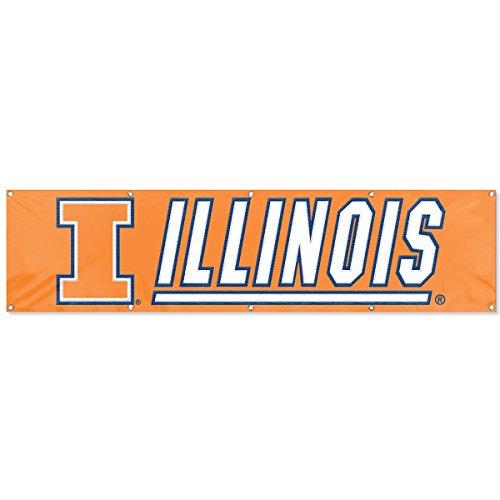 Party Animal Illinois Fighting Illini Block I Large 8 Foot ()