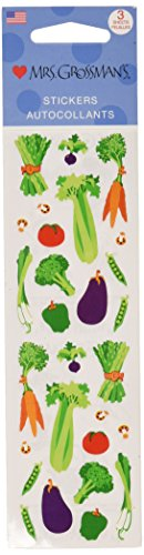 Mrs Grossman Stickers-Vegetables
