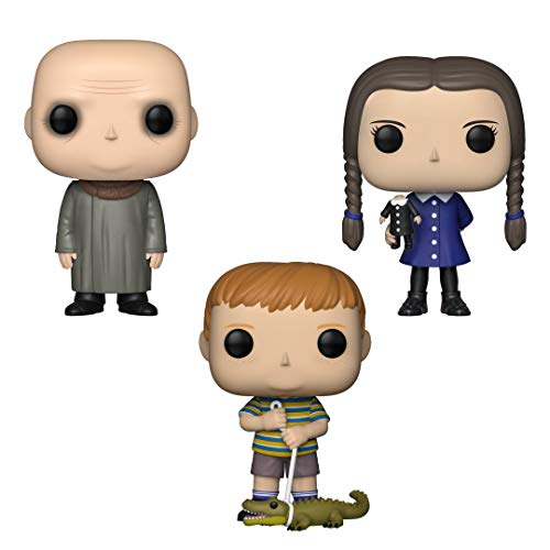 Funko TV: Pop! The Addams Family Collectors Set 2 - Uncle Fester, Wednesday, -