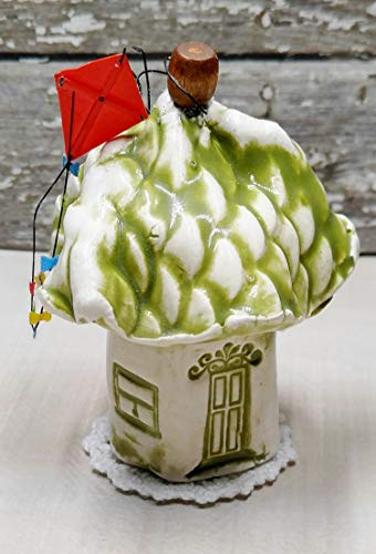 - Miniature Stoneware Clay House, Small 3