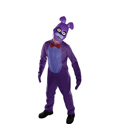 MyPartyShirt Bonnie Child Costume Five Nights At Freddy's-Childrens Medium (7-8)