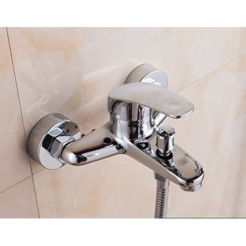 STAZSX European Copper Hot And Cold Bath Shower Faucet Bathroom Shower Bathroom  Faucet ...